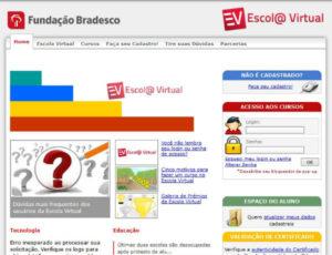 Escola Bradesco (Foto: Reprodução)